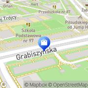 Mapa Bankowa Wrocław, Polska