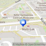 Mapa Multi-Lek sp.j. Wrocław, Polska