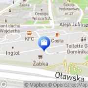 Mapa Yves Rocher Wrocław, Polska