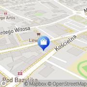 Mapa Apteka im. Henryka Brodatego Trzebnica, Polska