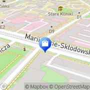 Mapa Apteka pod Kaliną sp.j. Wrocław, Polska