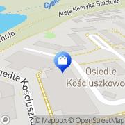 Mapa Apteka Osiedlowa Swarzędz, Polska