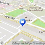 Mapa Apteki AB sp.j. Wrocław, Polska