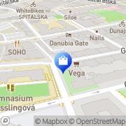 Map Natur Shop Vegetariánske lahôdky a potraviny Bratislava, Slovakia