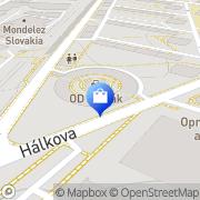 Map OD SLIMÁK Bratislava, Slovakia