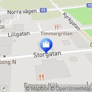 Karta Pallins AB Åsele, Sverige