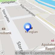 Karta Kringlans Fotomarknad Södertälje, Sverige