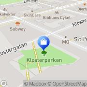 Karta Janemars . Uppsala, Sverige