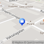 Karta Rucam AB Uppsala, Sverige