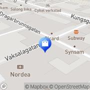 Karta Ohlssons Tyger & Stuvar AB Uppsala, Sverige