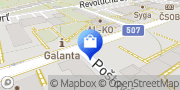 Map BAGS & MORE Galanta, Slovakia