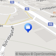 Karta Michael´s Herrkläder Kramfors, Sverige