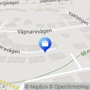 Karta BNL Trädtjänst Segeltorp, Sverige