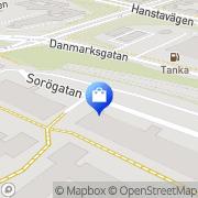 Karta Hannas Konfektion Stockholm, Sverige