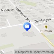 Karta PG Johnels Sollentuna, Sverige