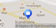 Karta G-Star RAW Store Solna, Sverige
