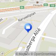 Karta Au Lighting AB Årstadal, Sverige