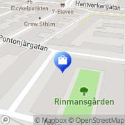 Karta Divex Stockholm, Sverige