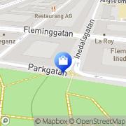 Karta Nils Lindman AB Stockholm, Sverige