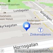 Karta Skalbolaget Musikproduktion Stockholm, Sverige