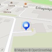 Karta Servicepunkten i Enebyberg AB/Autoexperten Enebybergs Villastad, Sverige