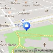 Karta TEKNIKMAGASINET Stockholm, Sverige
