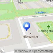 Karta Dako Idman & Co AB Stockholm, Sverige