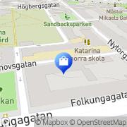 Karta Katarina Ungdomshem Stockholm, Sverige