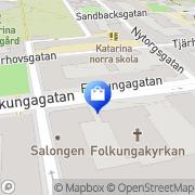 Karta Udda Toner Stockholm, Sverige