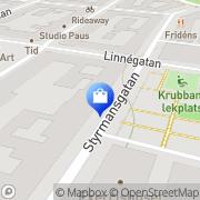 Karta S T C Suomen Tavara Clearing Stockholm, Sverige
