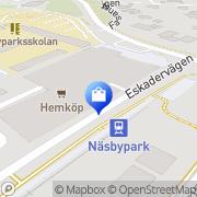 Karta PIJA'S Heminredning Täby, Sverige