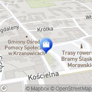 Mapa Apteka s.c. Krzanowice, Polska