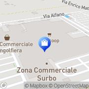Map MediaWorld Zona P.I.P., Italy