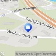 Karta Penslar & Fönster i Stockholm AB Nacka, Sverige
