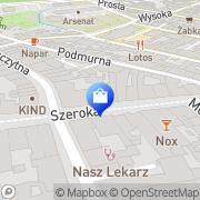 Mapa Yves Rocher Toruń, Polska