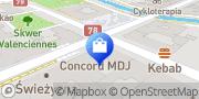 Mapa Fielmann Gliwice, Polska