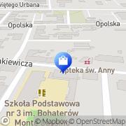 Mapa Apteka św. Anny Zabrze, Polska