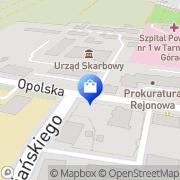 Mapa Apteka Tarnowskie Góry, Polska