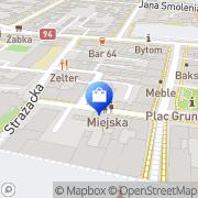 Mapa Apteka pod św. Franciszkiem Bytom, Polska
