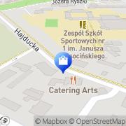 Mapa Dawid Sławicki Meble Na Wymiar Chorzów, Polska