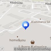 Mapa Yves Rocher Katowice, Polska