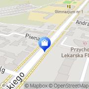 Mapa Apteka Sosnowiec, Polska