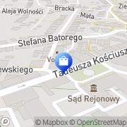 Mapa Apteka św. Franciszka sp.j. Żywiec, Polska