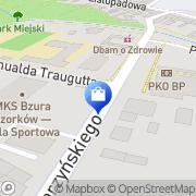 Mapa Apteka Ozorków, Polska