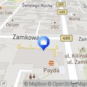 Mapa Pietrzak R. Reklama Pabianice, Polska