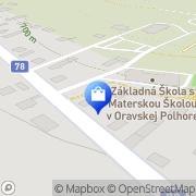 Map PRACOVNÉ ODEVY - KAJOTEX Námestovo, Slovakia