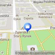 Mapa Pionier. S.j. Łódź, Polska