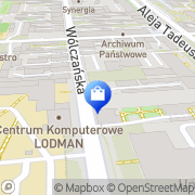 Mapa Goldenart Łódź, Polska