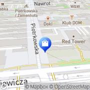 Mapa M-Styl sp.j. Łódź, Polska