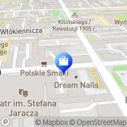 Mapa Apteka Łódź, Polska